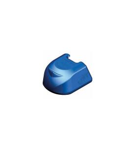 Protection tête d'attelage bleu