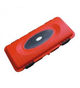 Coffre NF S 61-900 rouge pour extincteur 6 kg