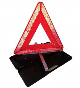 Triangle de pré-signalisation en valisette