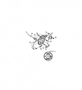 Kit machoires RTN/GOETT diam. 200 mm - Moyeu 2035