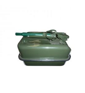 Jerrican plat type armée 10 litres - Dim. 36 x 24 x 20 cm