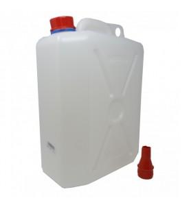 Jerrican alimentaire 20 litres - dim. 45x 33 x 19 cm