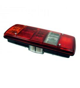 Feu pour poids lourd 5/6 fonctions universel (Mercedes, Iveco, Man, VW) - Gauche : éclairage de plaque