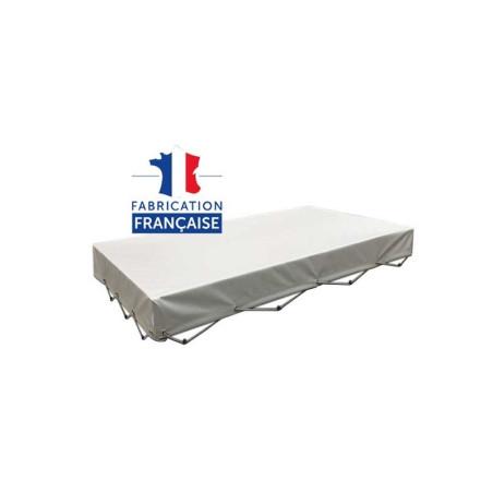 Bâche plate pour remorque premium dim. 160 x 122 cm