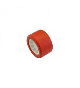 Galet rouge 100 x 50 mm - Ø 21,5 mm