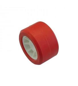 Galet rouge 120 x 75 mm - Ø 21 mm