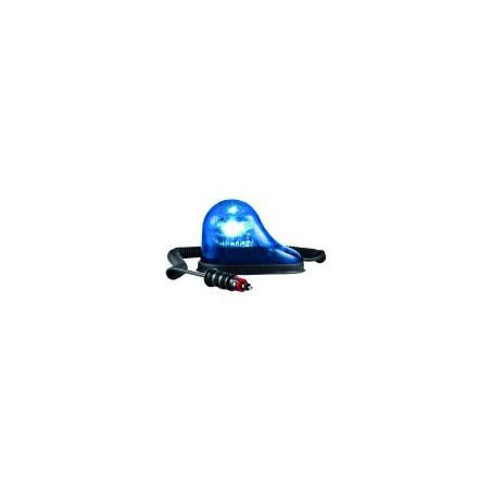 Gyrophare GOUTTE D'EAU magnétique flash bleu 12/24 V