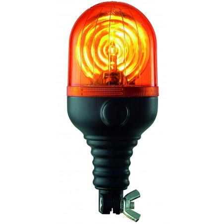 Gyrophare MICROROT tige flexible ambre H1 24 V