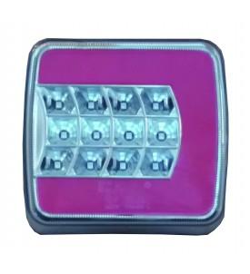 Feu à LED 4 fonction - Droit