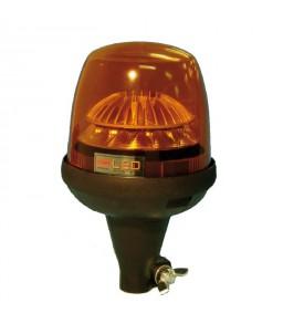 Gyrophare TAURUS tige flexible 10 à 30 V - H. 167 mm - Ø 125 mm