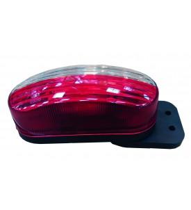 Feu de gabarit bicolore à LED sur languette - Droit