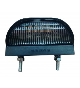 Eclaireur LED - Dimensions : 74 x 52 x 34 mm