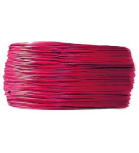 Câble 2 mm² - rouge - rouleau 25 m
