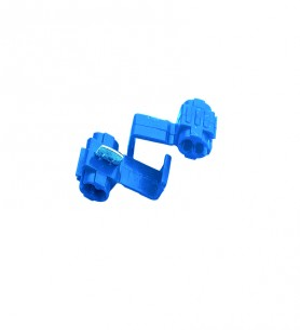 Cosses connecteurs rapide bleu 1 à 2,5 mm² - blister par 5