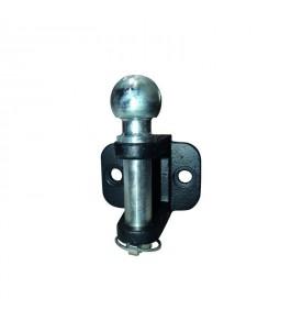 Chape d'attelage avec groupille de sécurité 2 trous Ø 17 mm