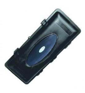 Coffre NF S 61-900 noir pour extincteur 6 kg