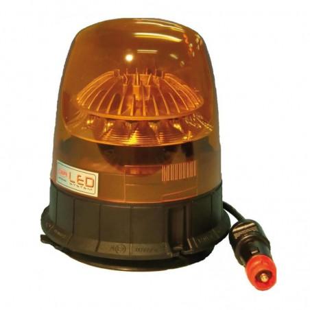 Gyrophare TAURUS magnétique 12/24 V - H. 172 mm - Ø 140 mm