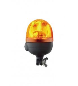 Gyrophare MICROBOULE tige rigide 12/24 V - H. 173 mm - Ø 110 mm