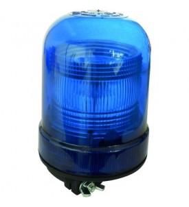 Gyrophare SIRIUS tige rigide 10 à 30 V xénon bleu - IP65 IP66 - H. 201 mm - Ø 120 mm