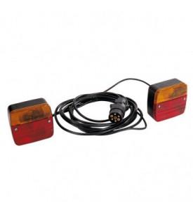 Equipement magnétique à LED Alimentation 7,50 m - entre feux 4 m