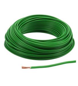 Câble 1,5 mm² - vert au mètre