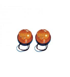 Mini Flash à LED 2 feux orange