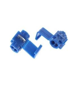 Cosse connecteur rapide bleu