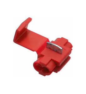 Cosses connecteurs rapide rouge 0,5 à 1,5 mm² - blister par 5