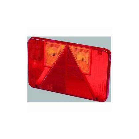 Feu droit 5 fonctions - RADEX série 5800 - Cabochon