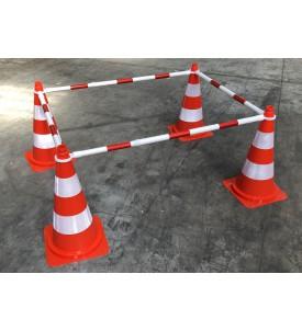 Barrière extensible pour cônes