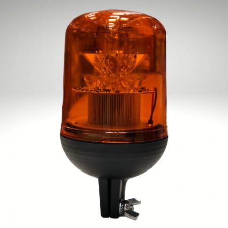 Gyrophare RIGATO tige rigide orange 12/24 V