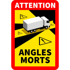 Stickers Angle mort Camion
