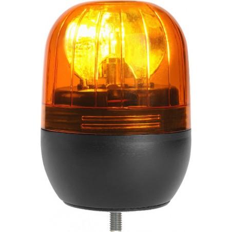 Gyrophare EUROROT à poser 12/24 V - H. 142 mm - Ø 116 mm