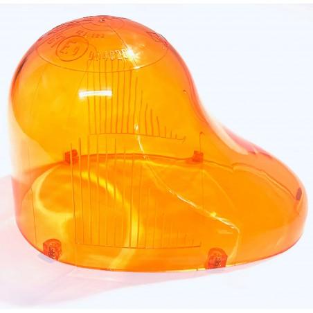 Gyrophare GOUTTE D'EAU cabochon orange