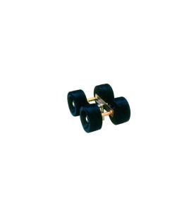 4 Galets 140 mm + Balancier 40x40