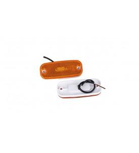 Feux de position à LED 12 V orange - latéral