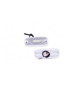 Feux de position à LED 12 V blanc - avant
