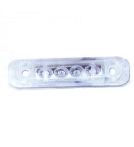 Feu à LED blanc - 24 V éclairage rouge