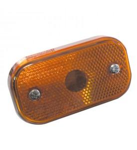 Feu de position avec catadioptre et ampoules - AJBA FA09 - Orange