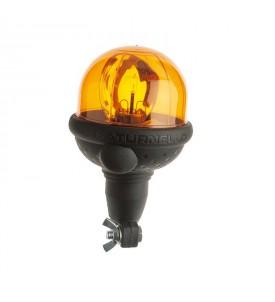 Gyrophare SATURNELLO tige flexible 12 V avec ampoule - H. 210 mm