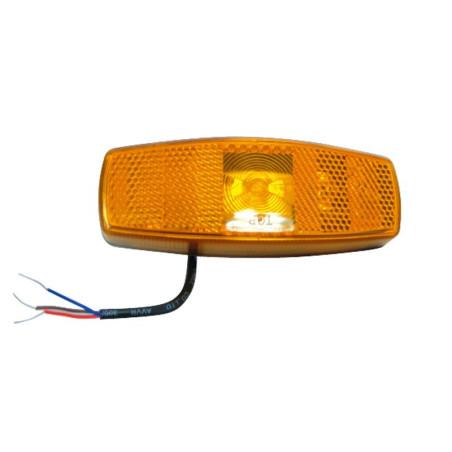 Feu latéral orange à LED à poser