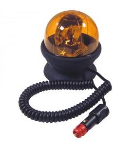 Gyrophare SATURNELLO magnétique 12/24 V sans ampoule - H. 135 mm