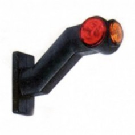 Feu de GABARIT à LED avec feu latéral - JOKON SPL2020W - Gauche