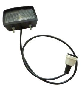 Eclaireur pré-câblé avec connecteur - 1,50 m - 68 x 35 x 38 mm