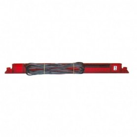Feu stop à LED 12 V rouge - SM - Dimensions : 350 x 28 x 13 mm