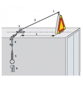 Kit de rabattement manuel pour triangle TRIFLASH