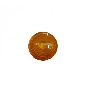Cabochon orange Ø 80 mm pour triangle TRIFLASH