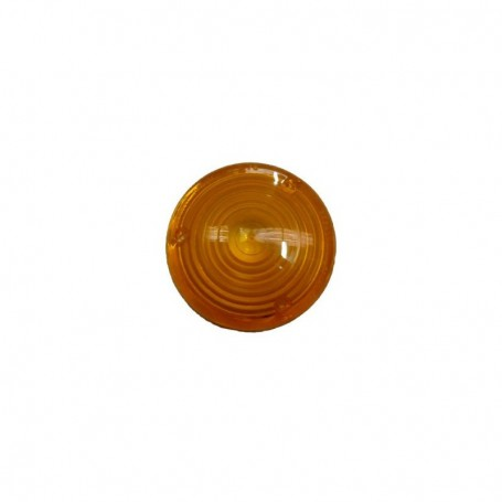 Cabochon orange Ø 80 mm pour triangle TRIFLASH