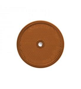 Catadioptre diam 60 MM - Latéral orange