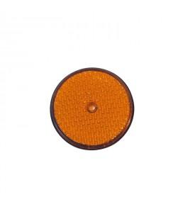Catadioptre diam 86 MM - Latéral orange